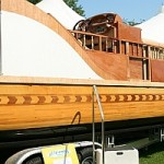 large wooden boat