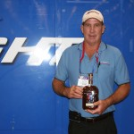 Bob Lynde Wins Raffle Drawing of Woodford Reserve Kentucky Bourbon