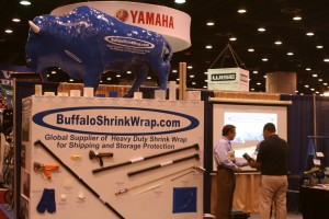 Buffalo Shrink Wrap Shows off their product at IBEX