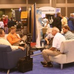 Friends and Business Partners Get Together to Catch Up at IBEX
